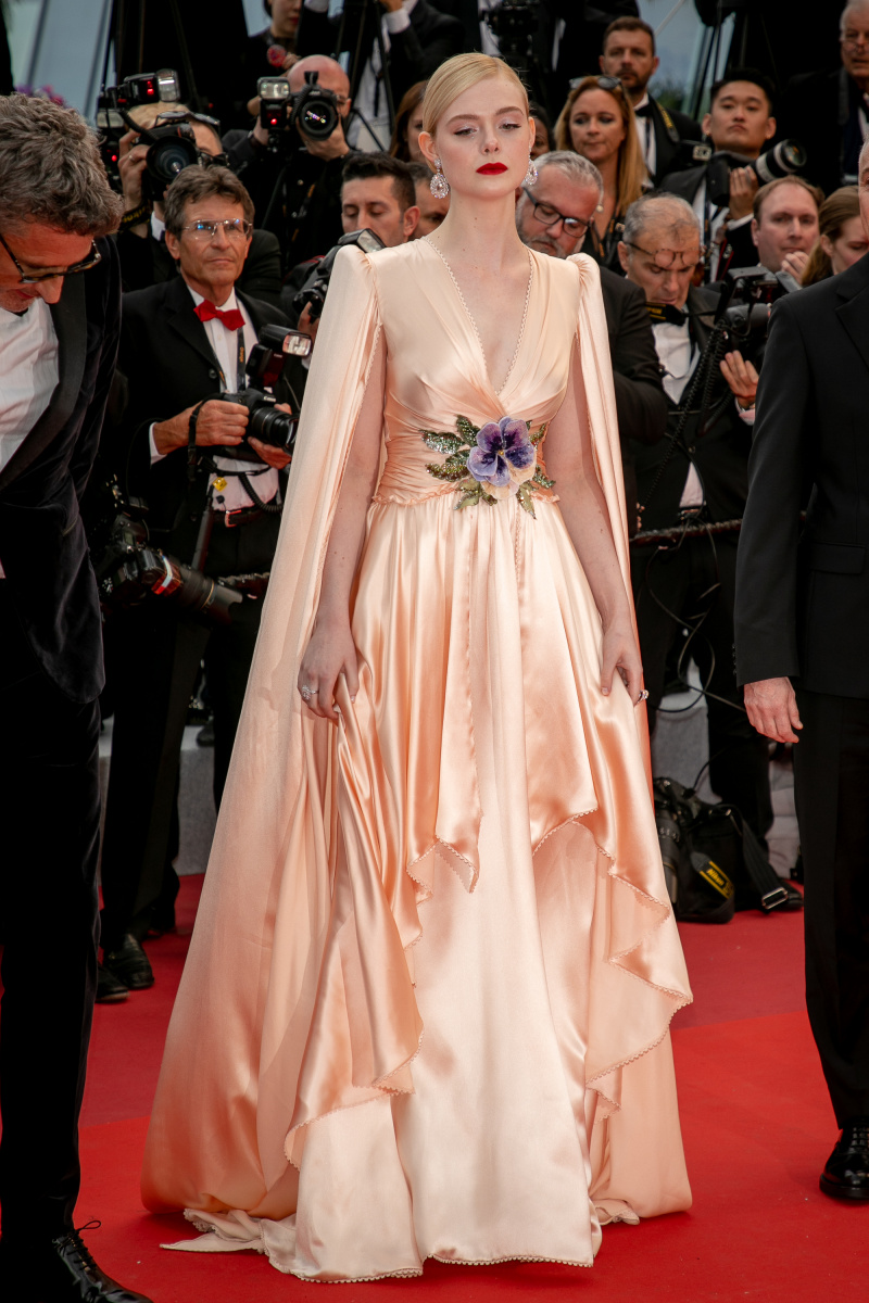 Elle Fanning Cannes May 14