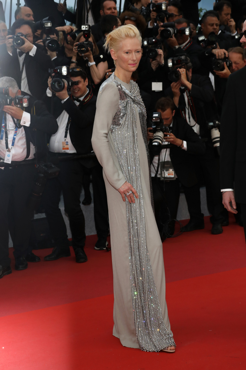 Tilda Swinton Cannes May 14