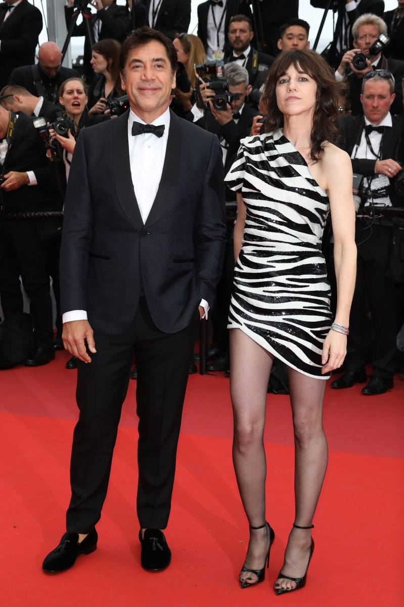 Javier Bardem Charlotte Gainsbourg Cannes May 14