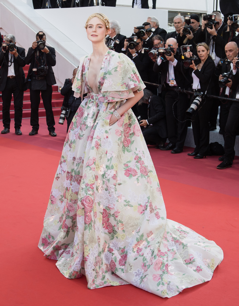 Elle Fanning Cannes May 15