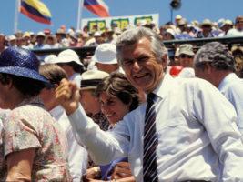 Bob Hawke Davis Cup 1986