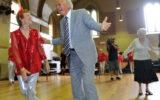 Bob Hawke tap dancing