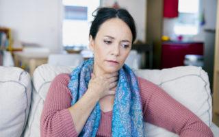 treat sore throat