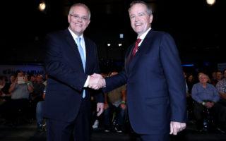 bill shorten scott morrison election