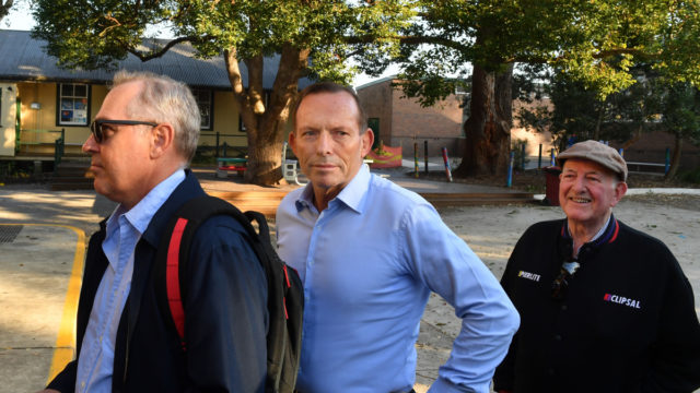 "Tony Abbott slams ""vicious behaviour"" after corkscrew stabbing"