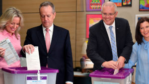 election exit poll says Labor will win
