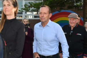 Former Prime Minister Tony Abbott looks likely to loose his blue-ribbon seat of Warringah.