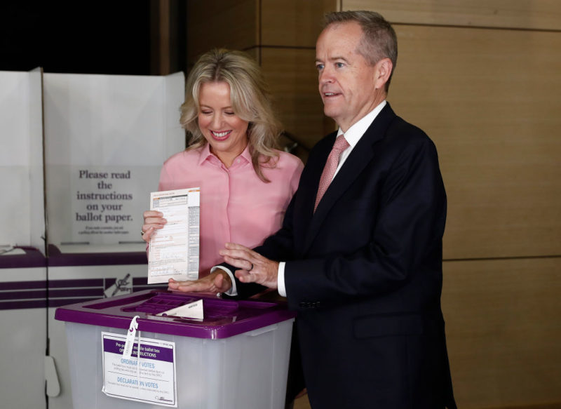 Bill Shorten vote