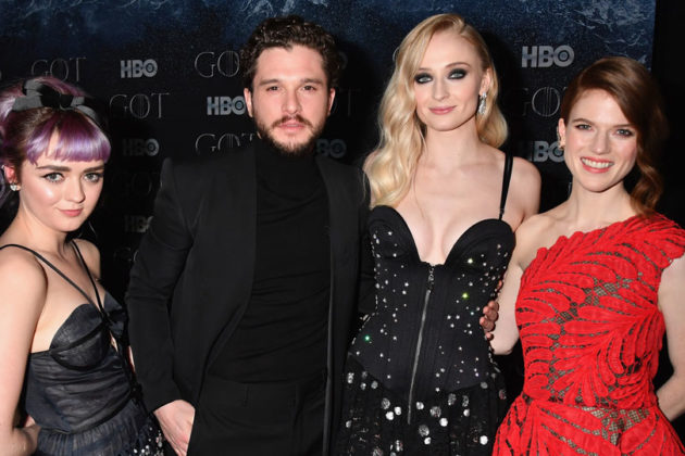 Game of Thrones cast April 2019