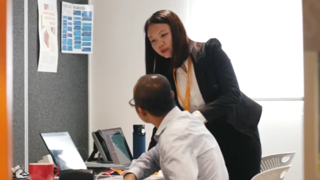 Hilary Wu was matched with iBuild for an internship. Now she's a full-time employee, turning her student dreams into career realities.