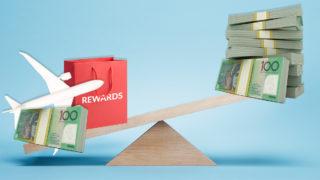 Rewards balanced against money.