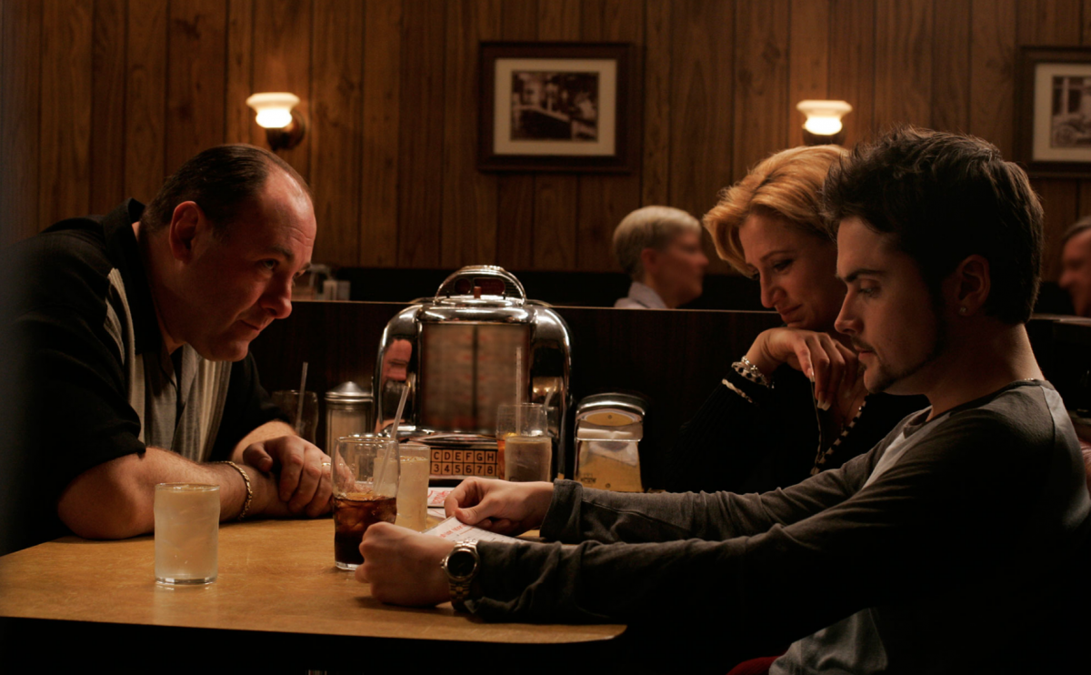 Sopranos final moments