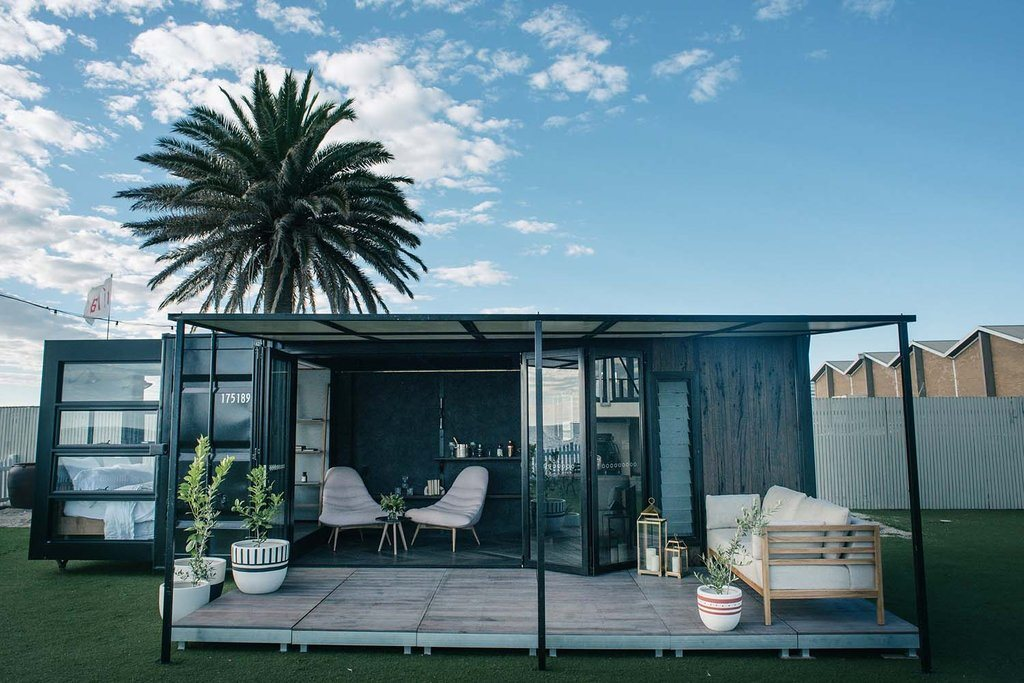 A fixed tiny house, which is much like a granny flat. Photo: Tiny Homes Australia