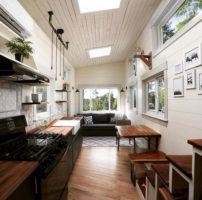 Tiny Homes could help address the housing affordability crisis, say advocates. Photo: Wood & Heart Building Co.