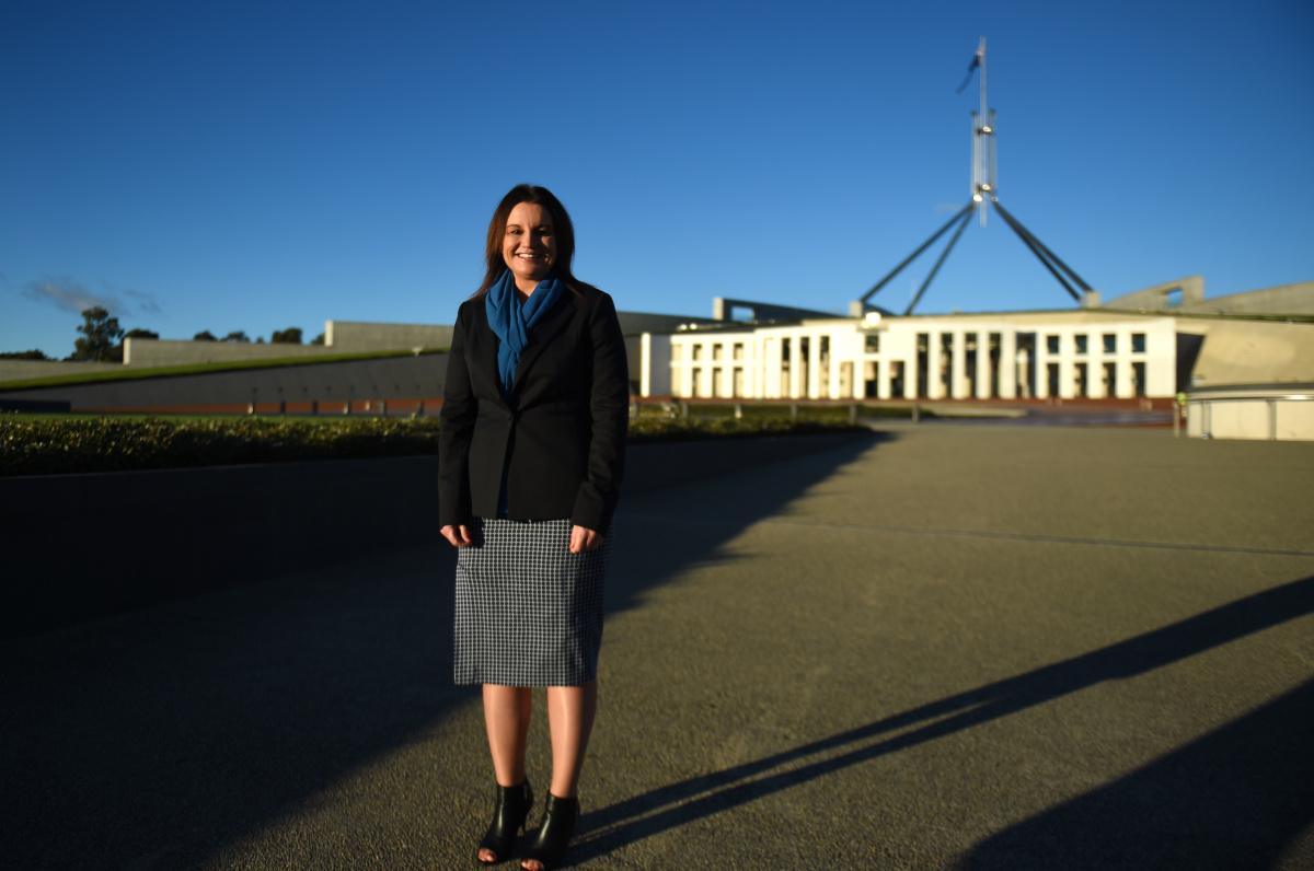 lambie-senator-parliament-house