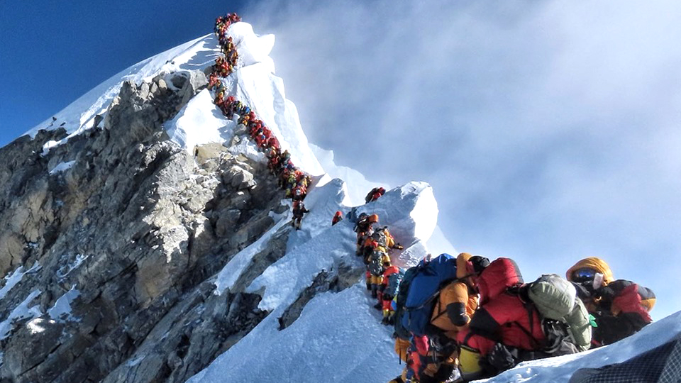 everest fatal queue