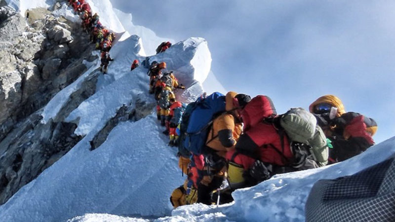 everest toll overcrowding nepal