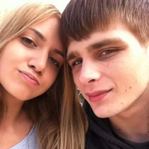 Courtney Herron pictured here with her then-boyfriend Terrick Norris.