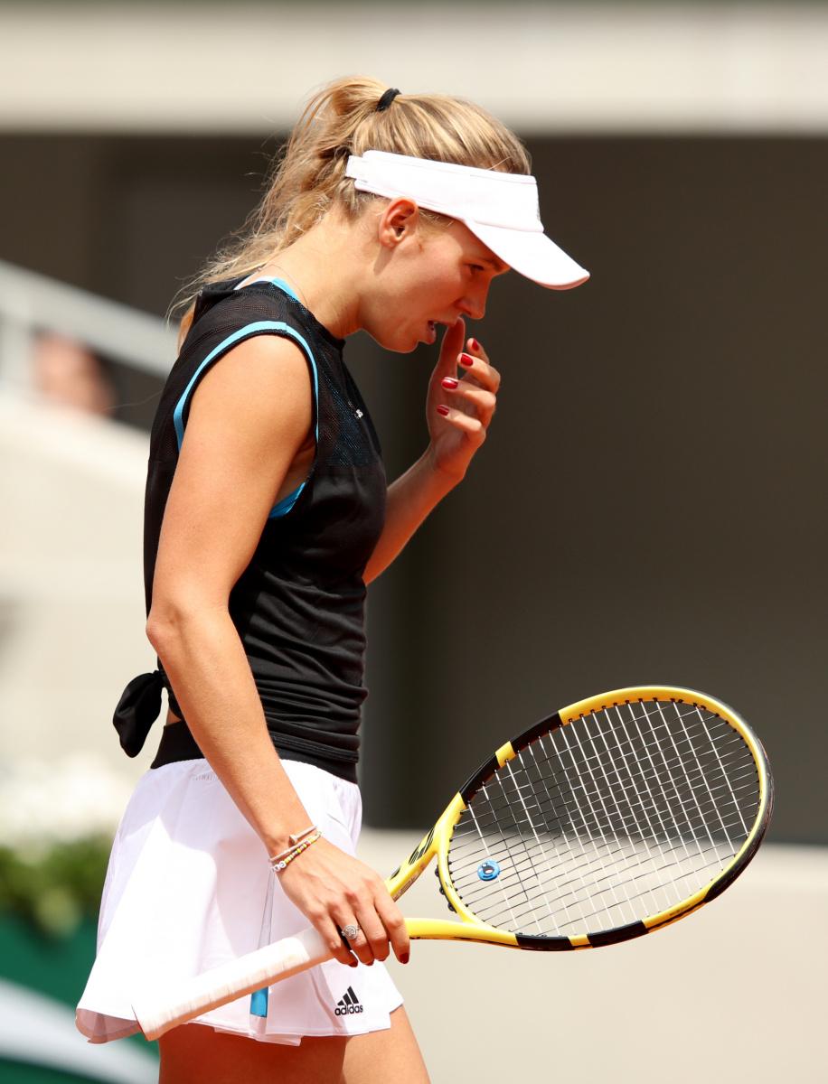 Caroline Wozniacki French Open 2019