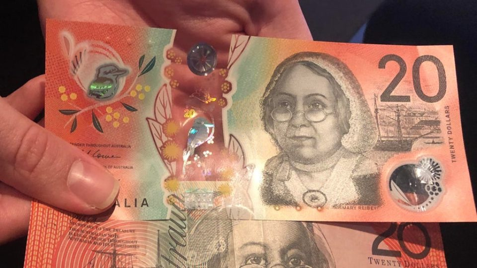 new $20 note