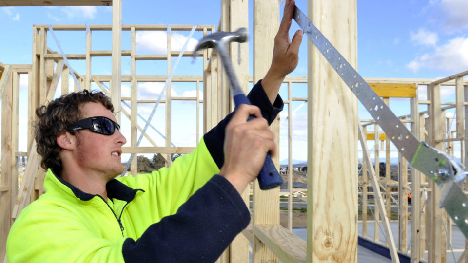 building approvals fall april