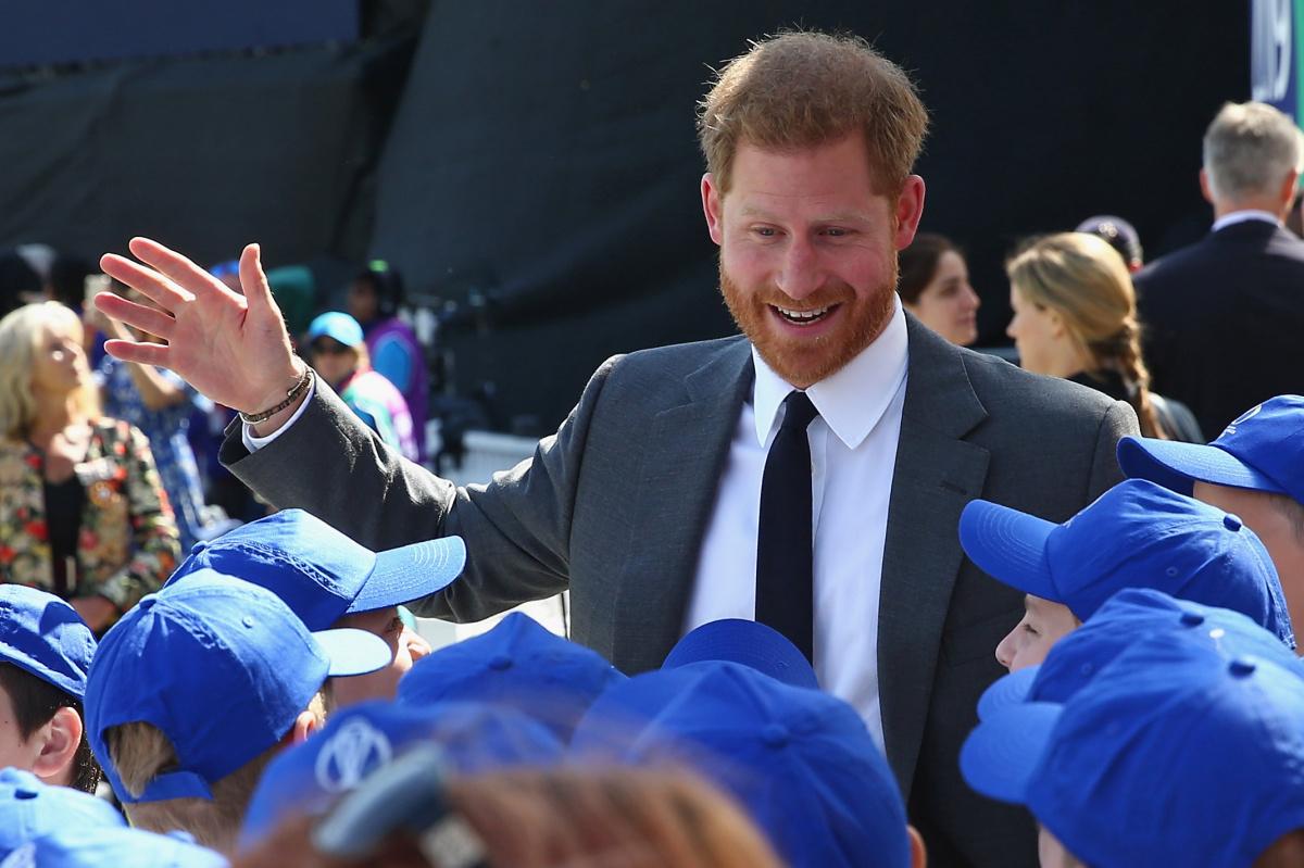 Prince Harry The Oval