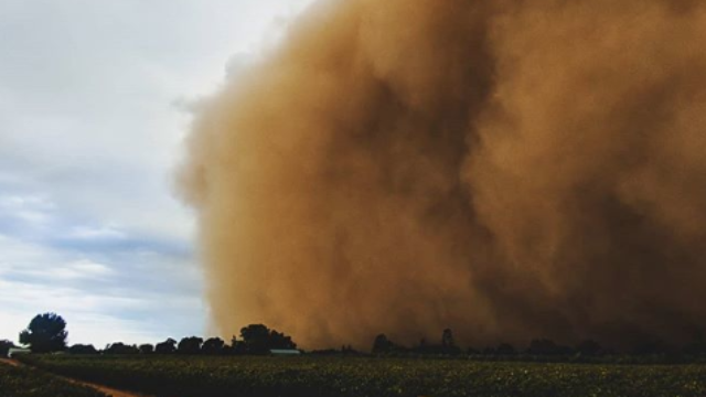 Health warning issued ahead of dust storms, more rain