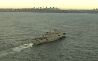 chinese warships sydney