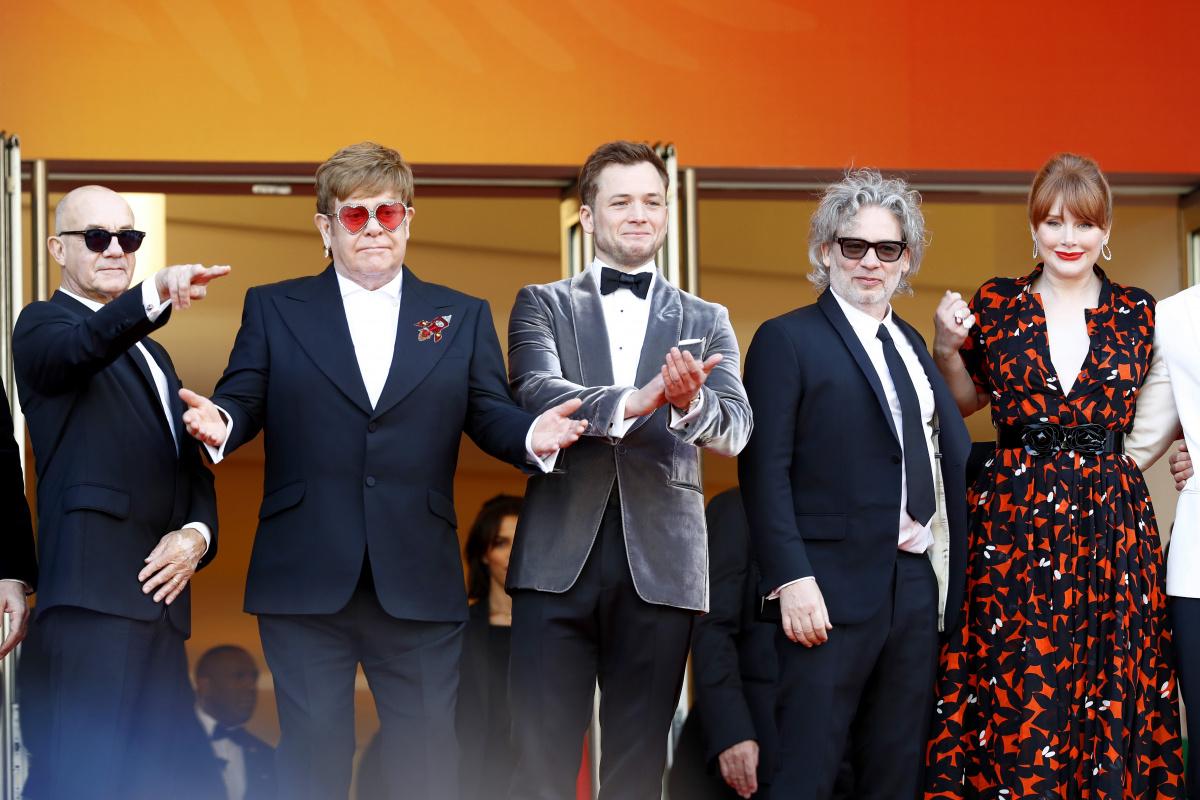Rocketman cast and crew Cannes