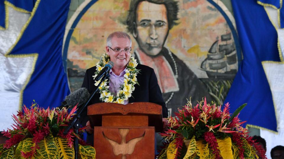 Scott Morrison Solomon Islands