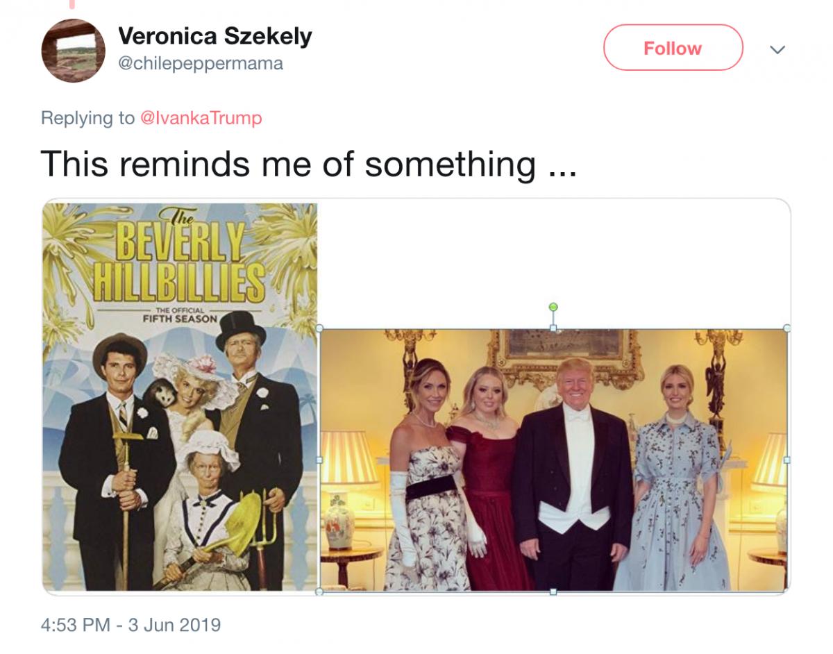 Trump UK visit tweet