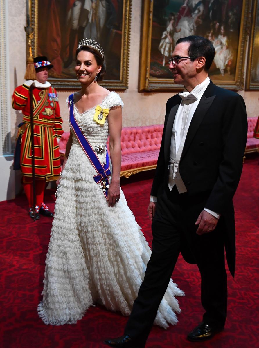 Duchess of Cambridge Steve Mnuchin