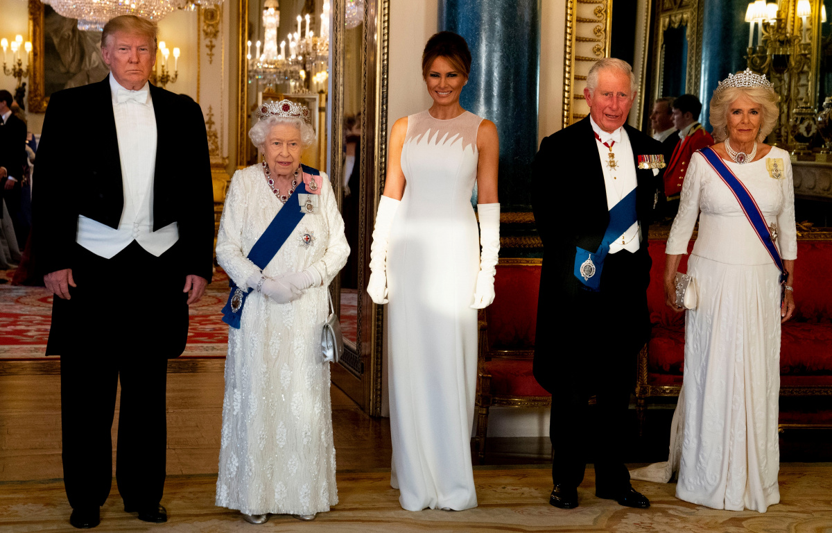 Trumps the Queen June 3 dinner