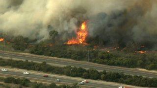 kwinana bushfire