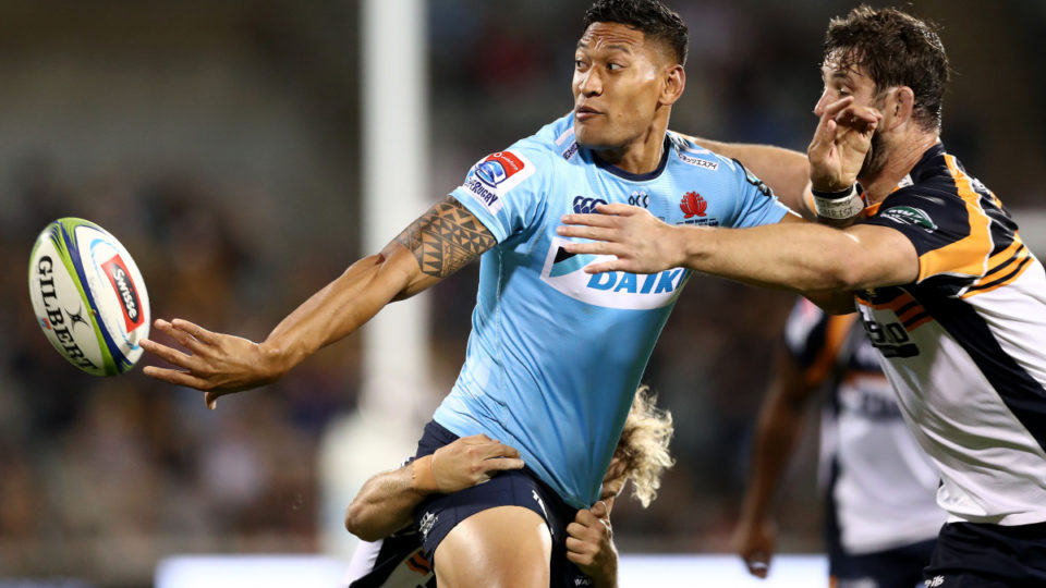 isarel folau acl donations