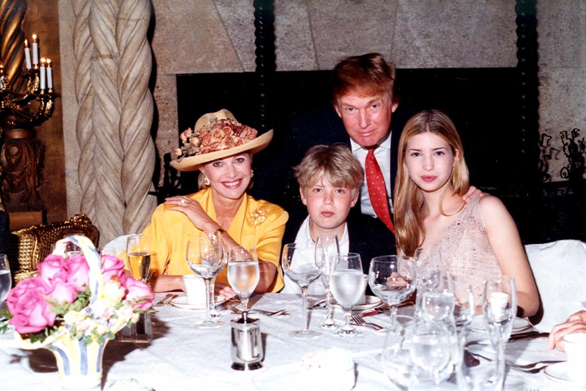 Donald Trump Ivana Trump Eric Trump Ivanka Trump