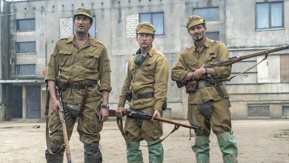 Chernobyl cast