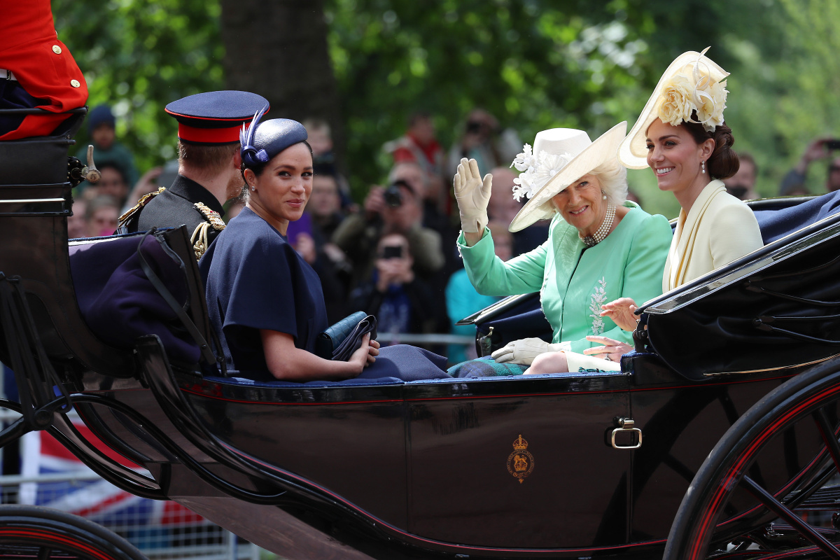 Harry, Meghan, Kate, Camilla