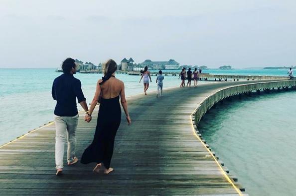 Gwyneth Paltrow honeymoon