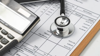 A medical insurance form.