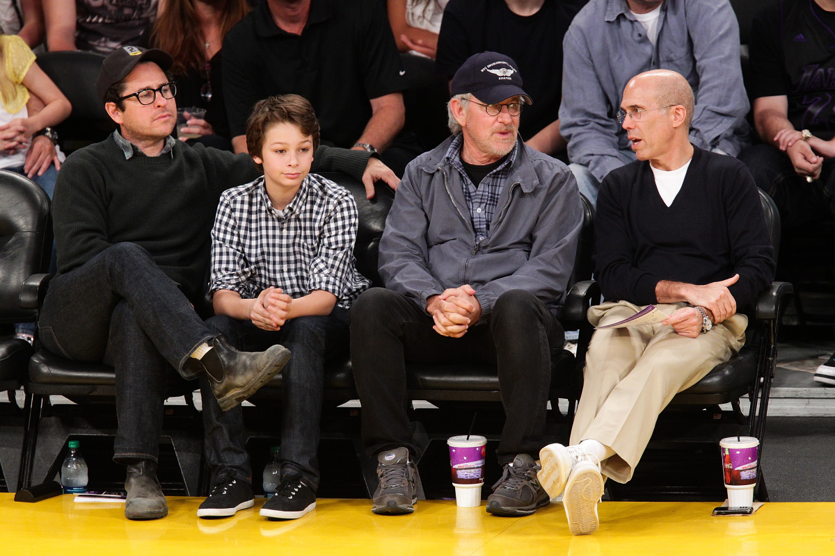 JJ Abrams Steven Spielberg Jeffrey Katzenberg
