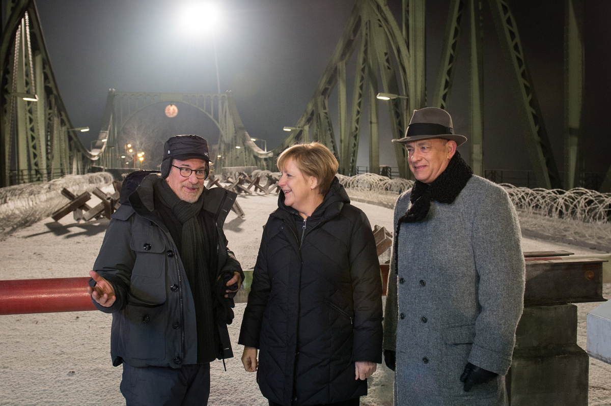Steven Spielberg Tom Hanks Angela Merkel