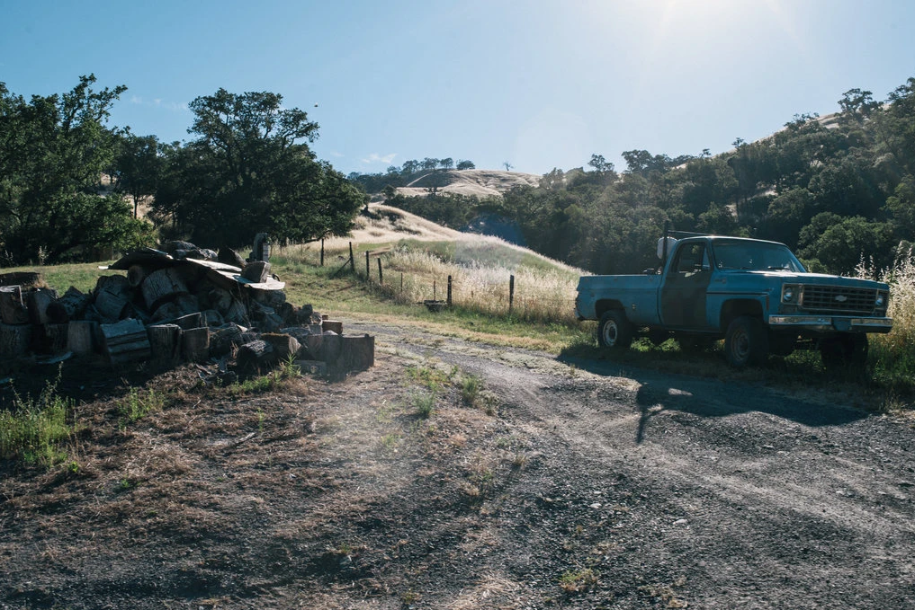 The property where the Ranch Fire began last year. Photo: NYT