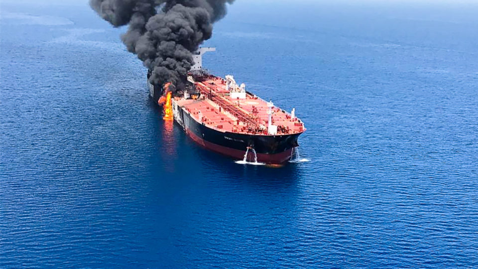 iran oil tanker attack