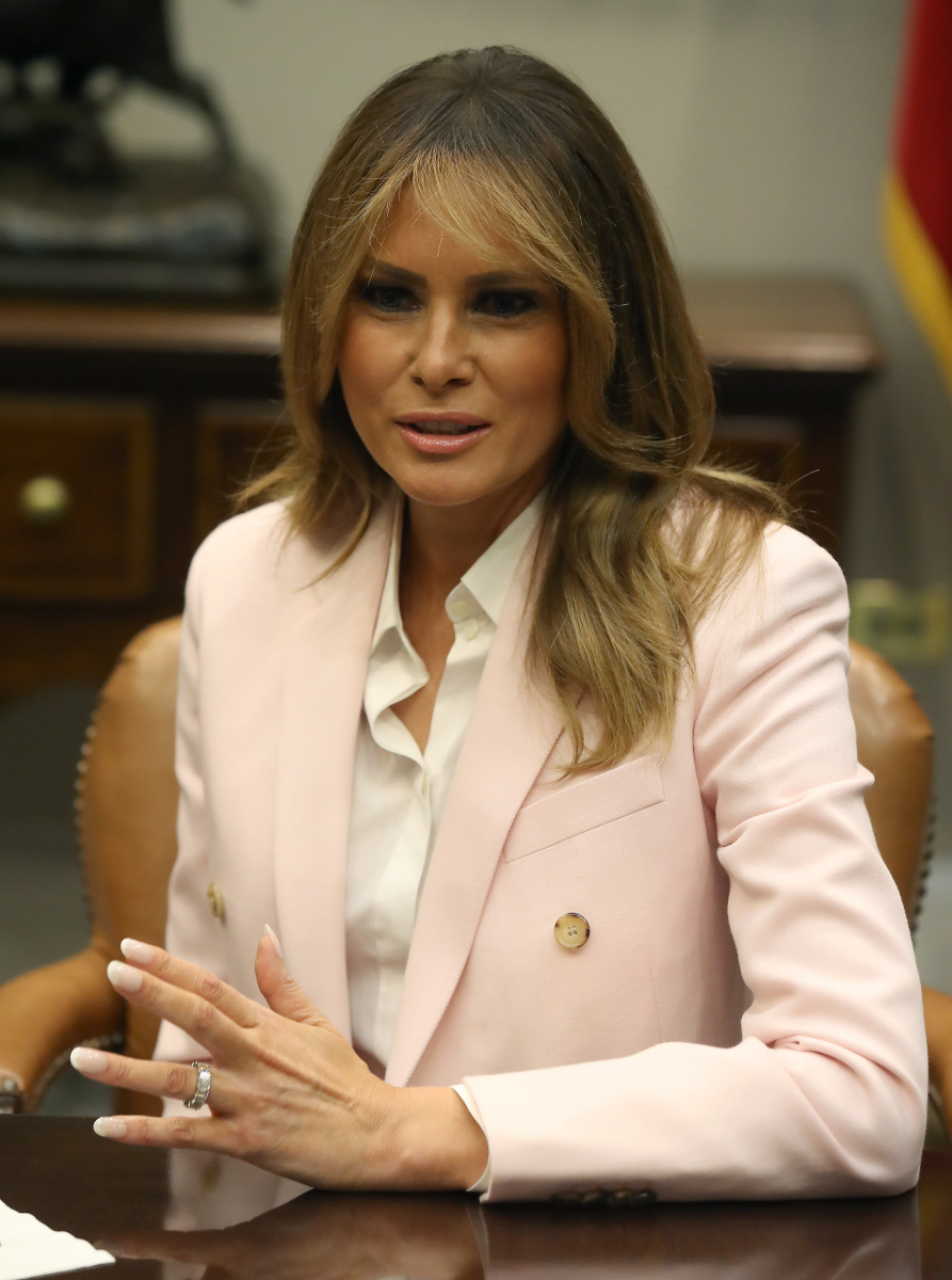 Melania Trump June 12