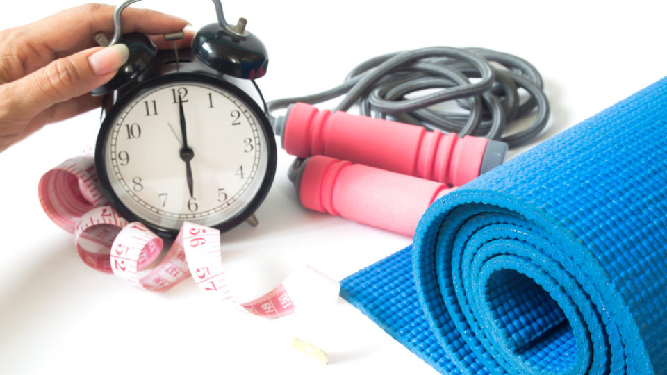 Image result for EXERCISING AND CLOCK