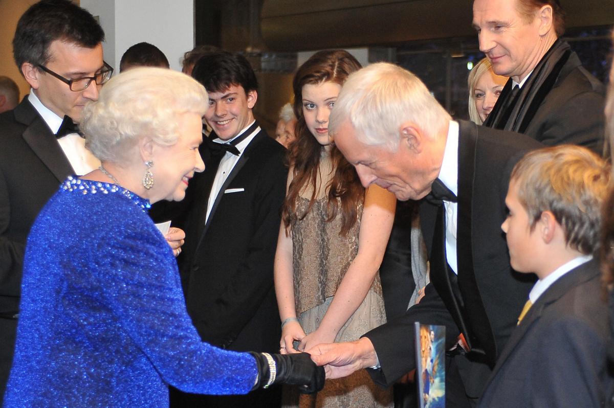 Michael Apted Queen Elizabeth