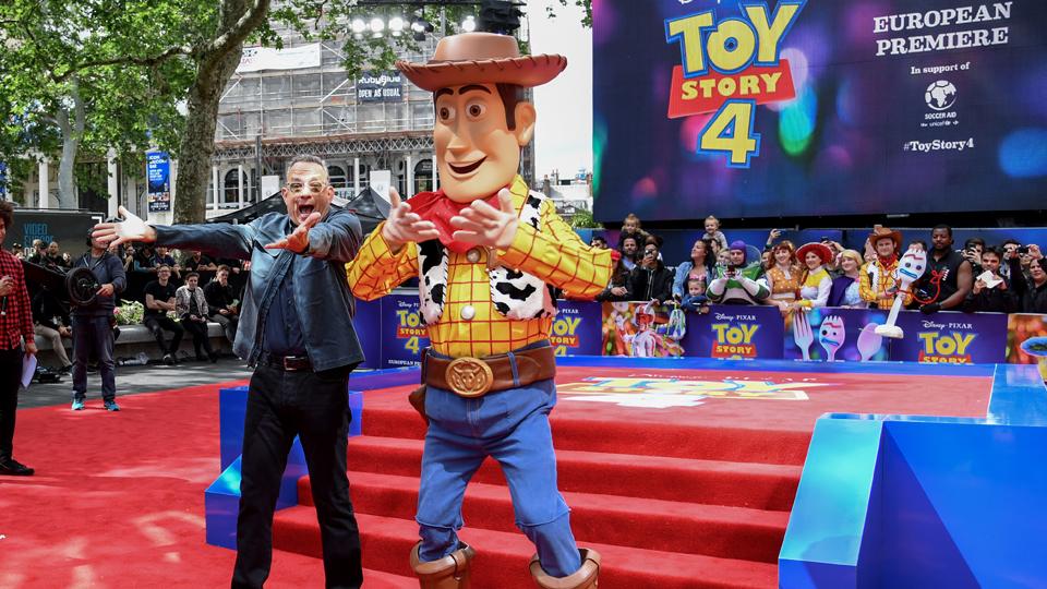 Tom Hanks Woody London June 16