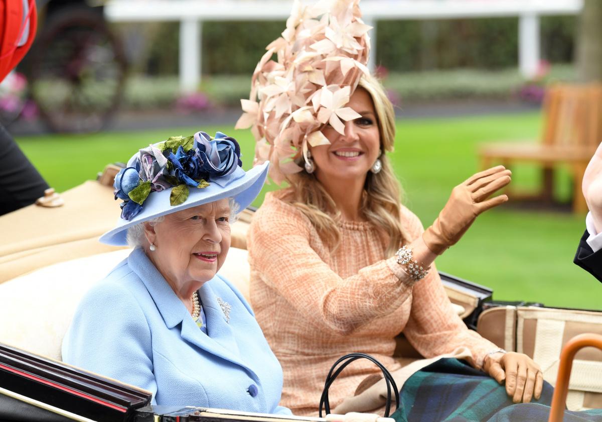 Queen Elizabeth Queen Maxima Royal Ascot