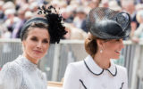 Queen Letizia Duchess of Cambridge Windsor June 17